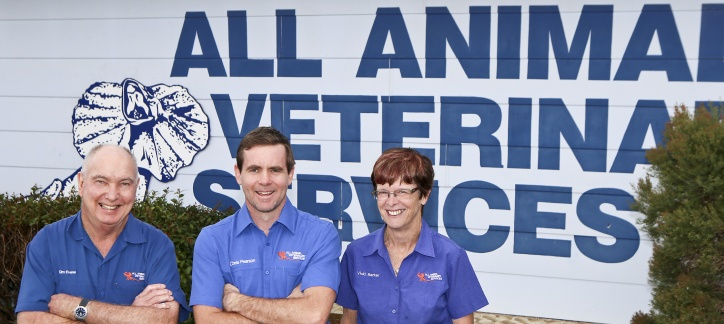 Three vets Nambour
