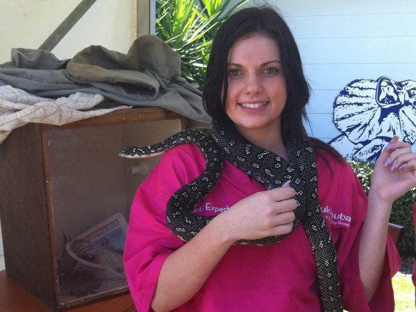 leah-with-a-snake
